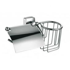 Держатель для туалетной бумаги+держ.дезодоранта FIXSEN KVADRO FX-61309+10 (блистер)