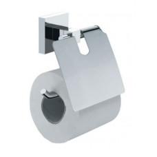 Держатель для туалетной бумаги с крышкой FIXSEN METRA FX-11110 (блистер)
