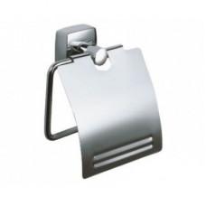 Держатель для туалетной бумаги с крышкой FIXSEN KVADRO FX-61310 (блистер)