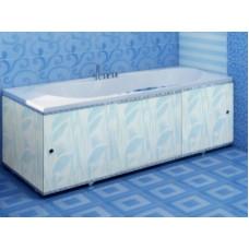 Экран для ванны ПРЕМИУМ А (алюм. профиль) 1,5 голубой