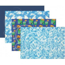Коврик 0,65м х 15м (синий)