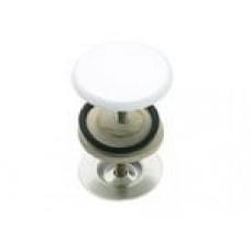 Заглушка для раковины белая Remer 695BI RR