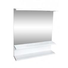 """Зеркало """"Лия"""" (белый) 600*550 (с подсветкой)"""