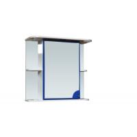 """Зеркало-шкаф """"Макарена-75"""" С левый (синий) 750*700*280"""