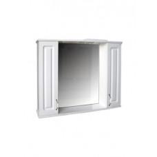 """Зеркало """"Лаура 100"""" С (белый) 1000х750х165"""