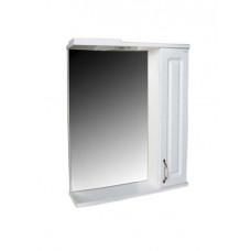 """Зеркало """"Лаура 60"""" С (белый) 600х750х150"""