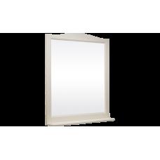 Зеркало БЕРТА 85 (в рамке с полочкой) Слоновая кость (BAS) МБ00169