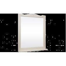 Зеркало ВЕРСАЛЬ 105 (в рамке с полочкой) Слоновая кость/9001 (BAS) МБ00089
