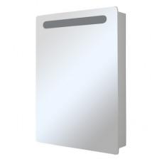 """Зеркальный шкаф """"СТИВ-60"""" белый левый с подстветкой"""