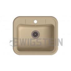 Мойка EWIGSTEIN Antik 60 1 чаша 600х520 мм (топаз)