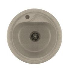 Мойкa ML-GM10 круглая, серая (310), 445мм