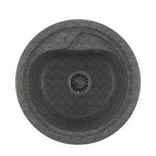Мойкa ML-GM10 круглая, темно-серая (309), 445мм