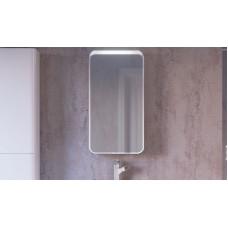 Pure Зеркало-шкаф 46 Белый с подсветкой