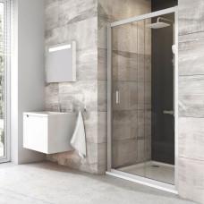 Душевая дверь Blix BLDP2-120 блестящий + Транспарент