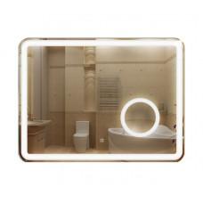 Зеркало 600*800 с Led подсветкой с сенс выкл и косметическим зеркалом