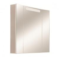 Зеркало-шкаф с подсветкой Стиль Арфа 80