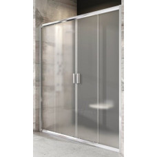 Душевая дверь BLDP4-140 блестящий+транспарент