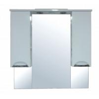 Зеркало-шкаф Стиль 100, белый