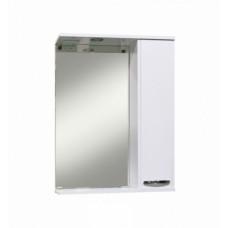 Зеркало-шкаф Sanita Квадро 60 с освещением, белый