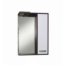 Зеркало-шкаф Sanita Квадро 60 с освещением, венге