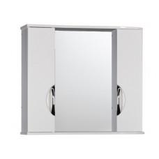 "Зеркало-шкаф ""Деко 100"" (белый) 1000х732х160"