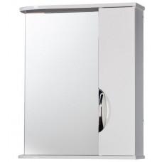 """Зеркало-шкаф """"Деко 70"""" правый (белый) 700х732х160"""