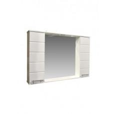 "Зеркало-шкаф ""Корро-100"" (белый) 1000х715х160"