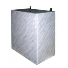 Шкаф навесной кухонный 50 белый мрамор
