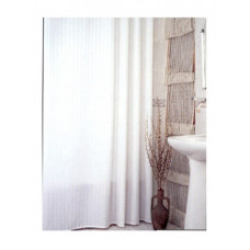 "Штора для ван ""ZALEL YGL"" 0008 Bigstripes White белый (П207)"