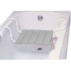 Сиденье для ванной ЛИДЕР мрамор/серое Турция