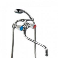 Смеситель для ванны 1/2 м/к (литой) ПСМ-156-К/77 пластик